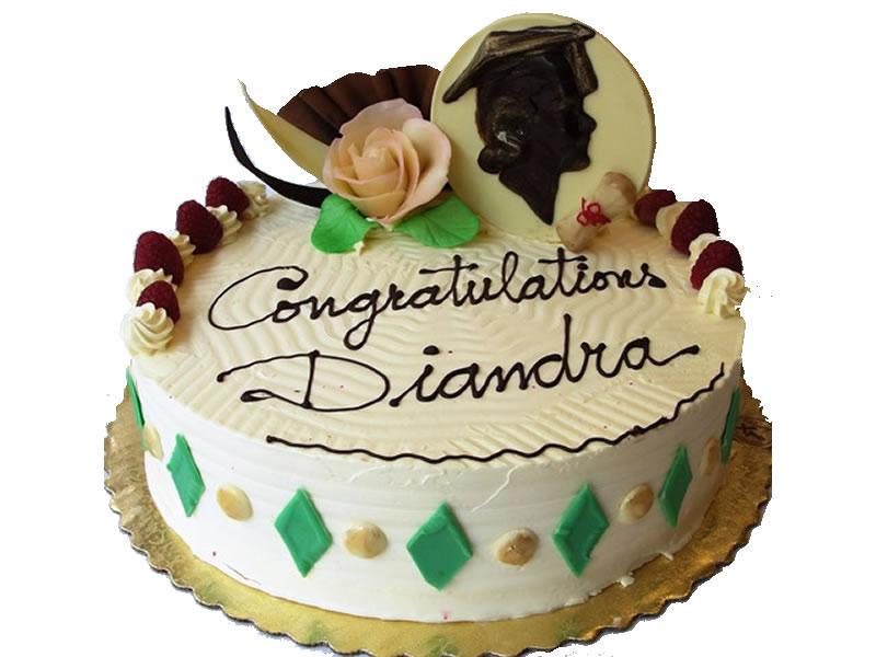 George Mason Graduation Cake #1