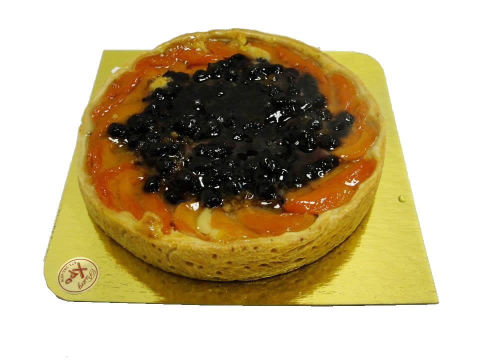 Apricot Blueberry Tart