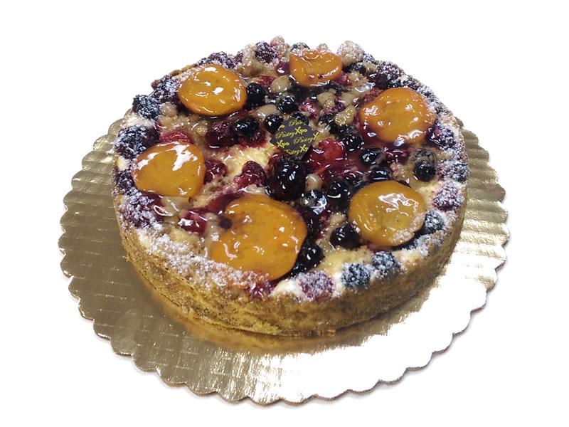 Berry Crumble Cheesecake