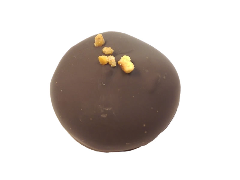 Macaron Dipped In Chocolate