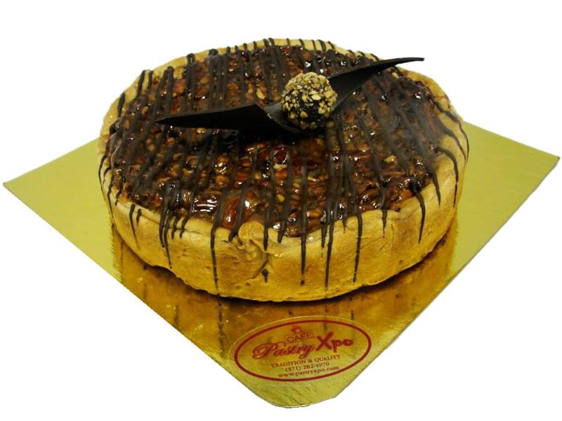 Pecan Chocolate Bourbon Tart