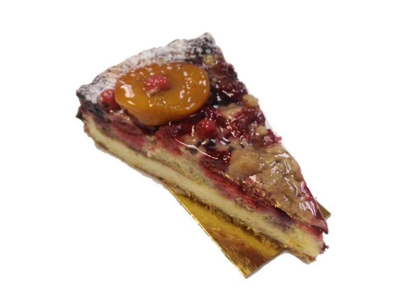 Berry Crumble Cheesecake Dessert