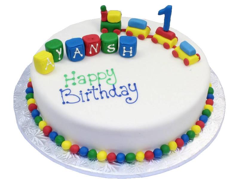 Choo 1st Birthday Cake