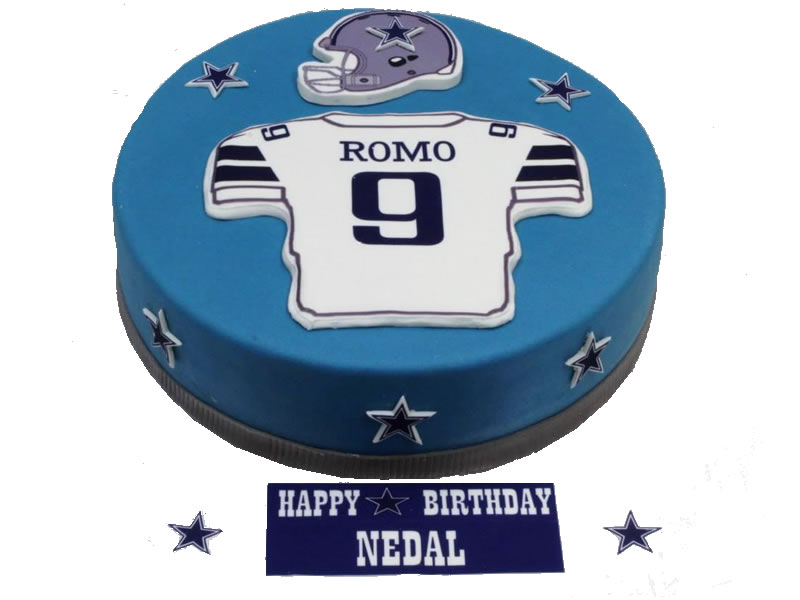 Football Player Birthday Cake Pastry Xpo
