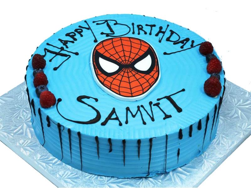 Tremendous Spiderman Birthday Cake Pastry Xpo Birthday Cards Printable Opercafe Filternl