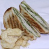 Turkey Broccoli Pesto Panini