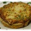 Quiche Spinach & goat cheese