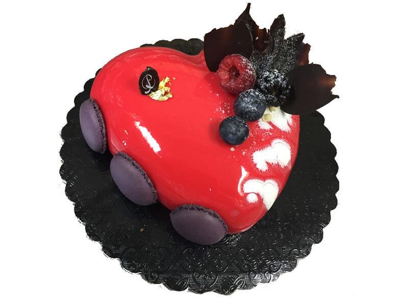6″ Heart Cake