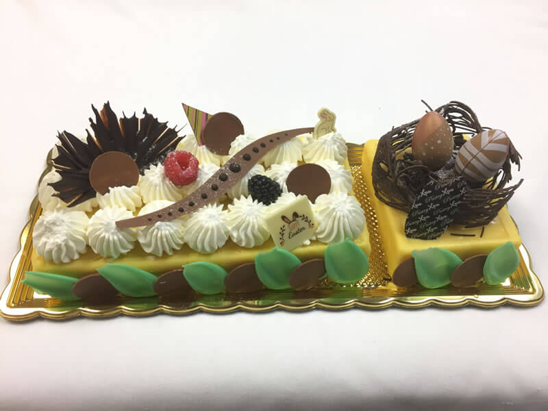 Kalamansi cream Easter cake