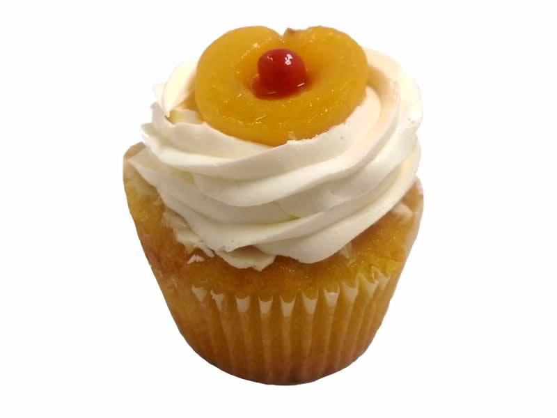 Apricot Sunset Cupcake