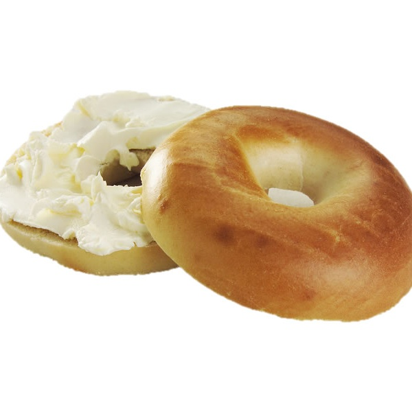 Plain bagel spread