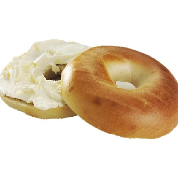 Plain bagel spread