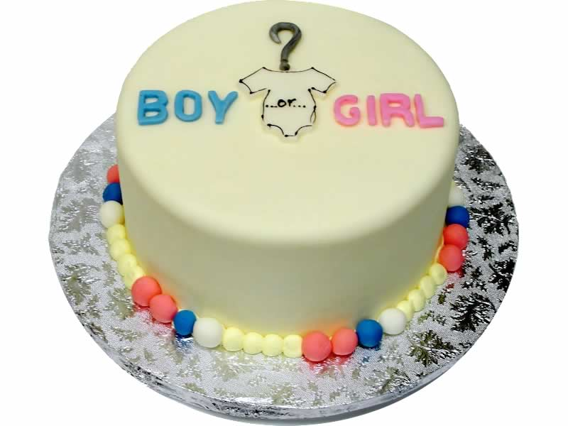 Boy Or Girl Cake