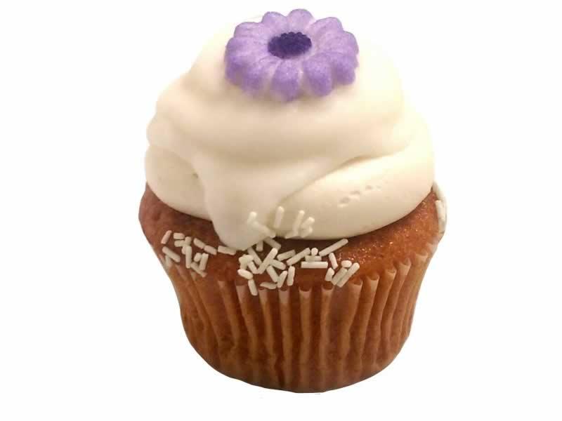 Cherry Blossom Cupcake