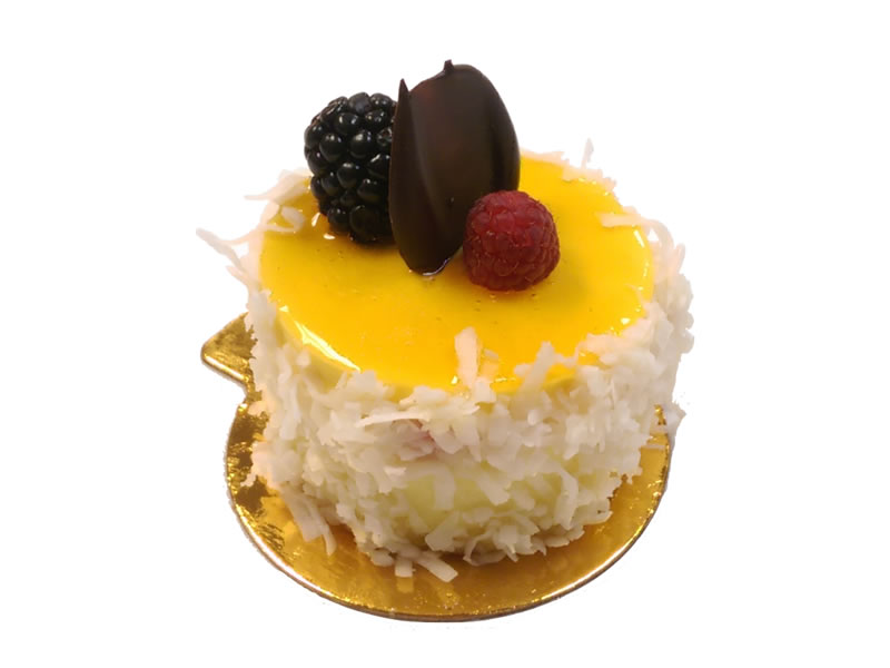 Coconut Mango Cheesecake Dessert
