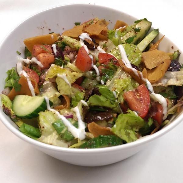 Mediterranean Fattouch salad