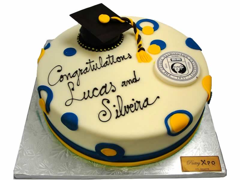 George Washington University Graduation Cake
