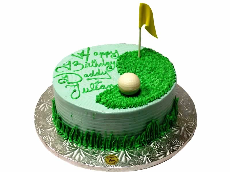 Amazing Golf Theme Cake Pastry Xpo Funny Birthday Cards Online Aeocydamsfinfo