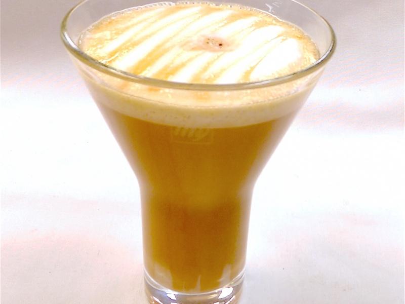 Rusty Macchiato (hot or iced)