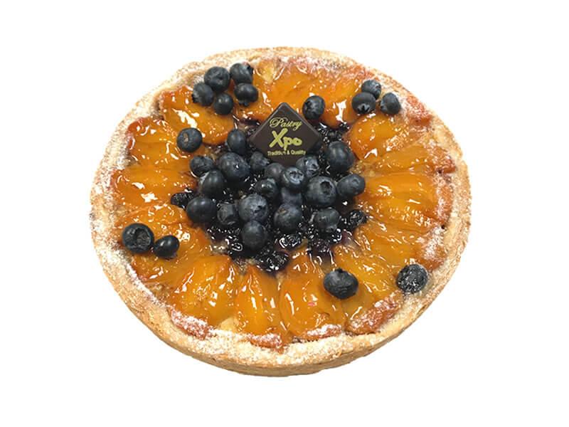 Apricot Blueberry Tart