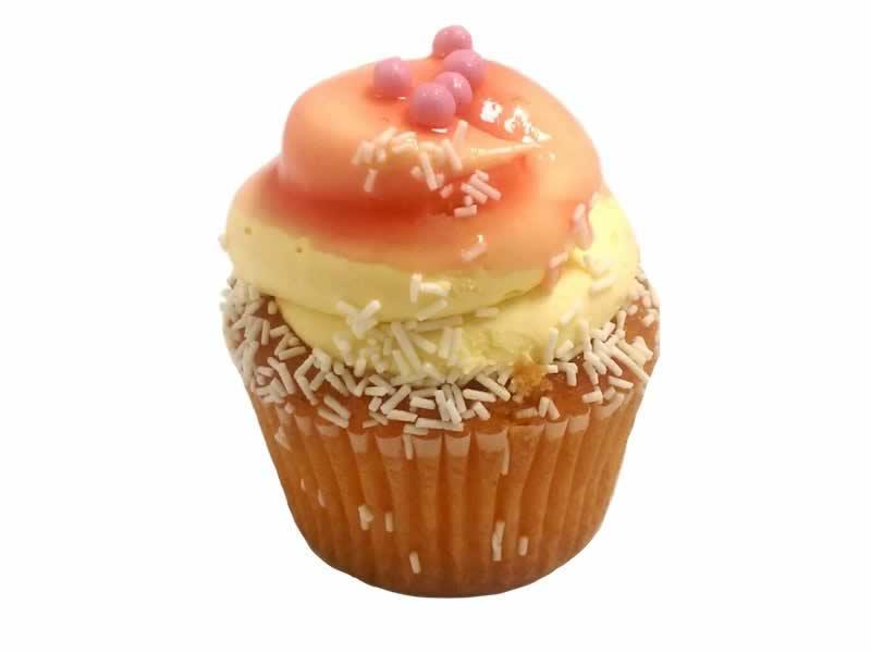 Peach Bellini Cupcake