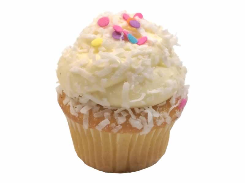 Snowball Cupcake